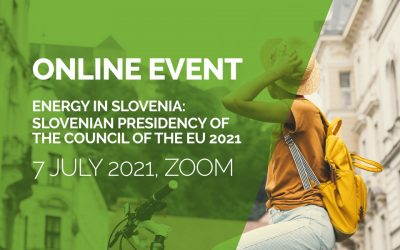 Digital event: Energy in Slovenia: Slovenian Presidency of the Council of the EU 2021