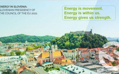 ENERGY IN SLOVENIA: Slovenian Presidency of the Council of the EU 2021